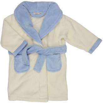 BABY TOWN Baby Boys Fleece Pocket Dressing Gown by Baby T