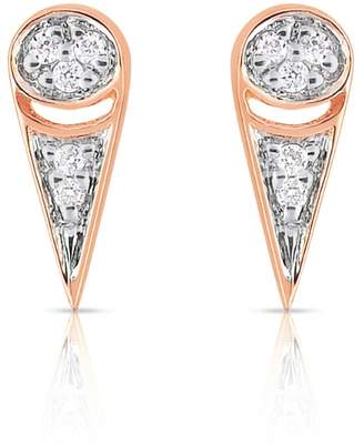 ginette_ny Mrs. Joe Tiny Diamond Stud Earrings