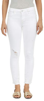 Articles of Society Mid-Rise Ripped Skinny Crop Jeans