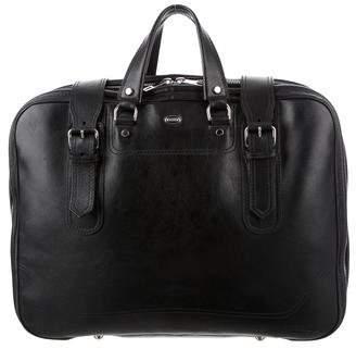 Balenciaga Leather Weekender