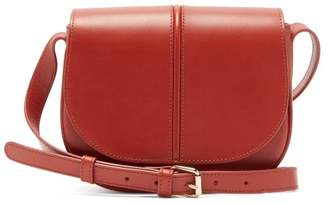 A.P.C. Betty Leather Cross Body Bag - Womens - Orange