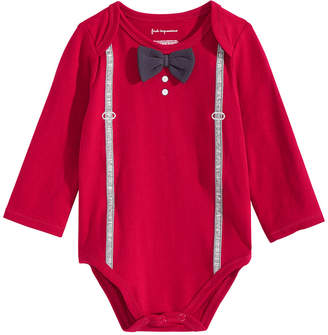 First Impressions Baby Boys Bow-Tie Bodysuit