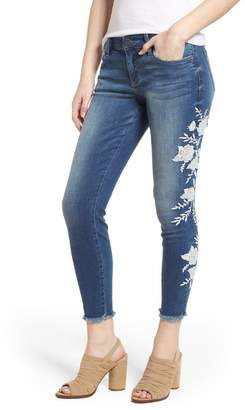 KUT from the Kloth Kut Kollection Connie Embroidered Skinny Jeans (International)