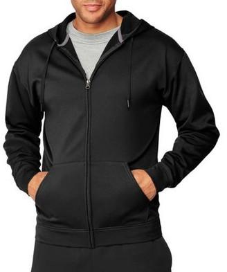 Hanes Sport Big Men's Performance Fleece Full-Zip Hoodie