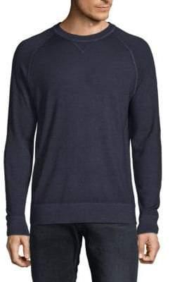 Saks Fifth Avenue Raglan-Sleeve Merino Wool Sweater
