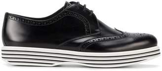 Church's Ruby platform brogue shoes