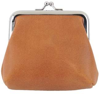 Most Wanted Design by Carlos Souza Rustic Kiss Lock Pouch Wallet