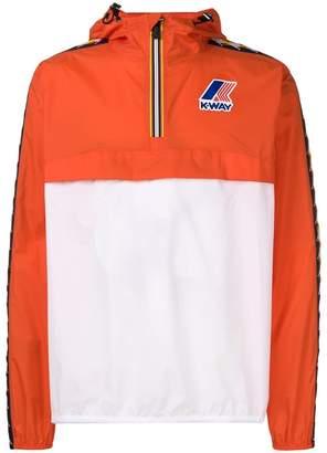 Kappa x K-Way windbreaker hoodie