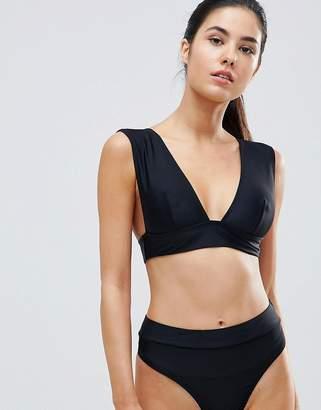 Missguided Mix & Match Super Plunge Bikini Top
