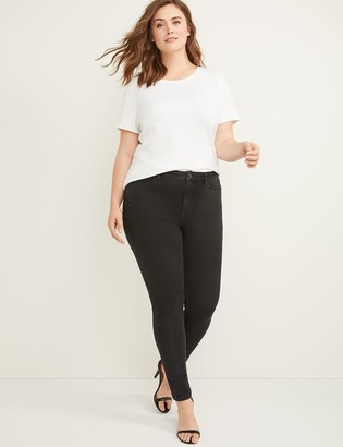 Lane Bryant Ultimate Stretch Skinny Jean - Black