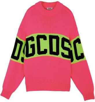 GCDS Logo Wool-Blend Sweater