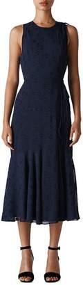 Whistles Adriane Star Jacquard Dress