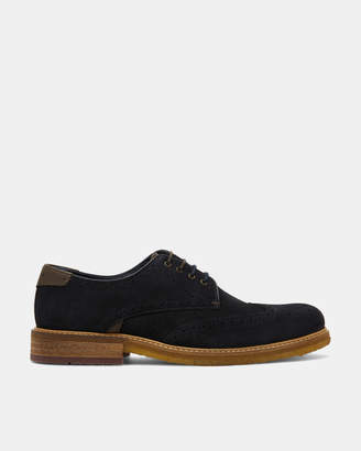 Ted Baker PRYCCES Classic suede Derby shoes