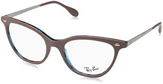Ray-Ban Women's 5360 Optical Frames, Negro
