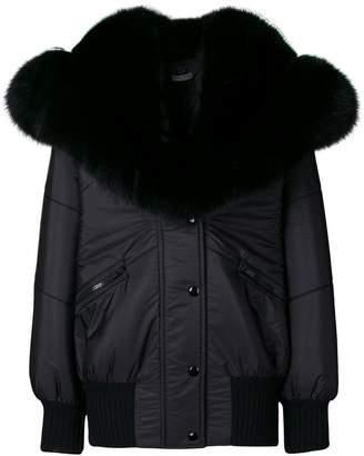 Miu Miu oversized bomber jacket