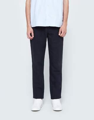 La Panoplie Pleated Linen Pant
