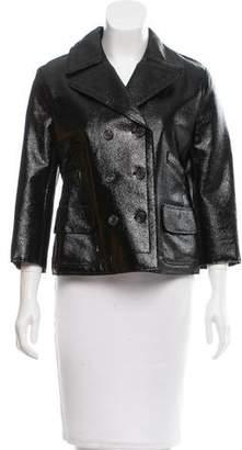 Nina Ricci Coated Double-Breasted Jacket