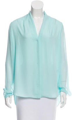Elie Tahari Silk Oversize Top w/ Tags $75 thestylecure.com
