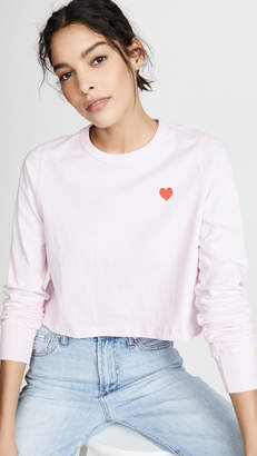 Spiritual Gangster Heart Fiona Long Sleeve Top