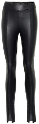 Wolford Faux leather leggings
