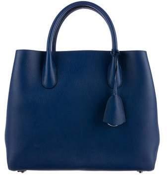 Christian Dior Leather Open Bar Bag