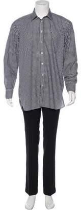 Turnbull & Asser Gingham Dress Shirt