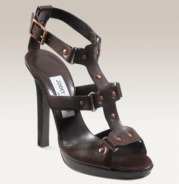 Jimmy Choo 'Prize' Gladiator Platform Sandal
