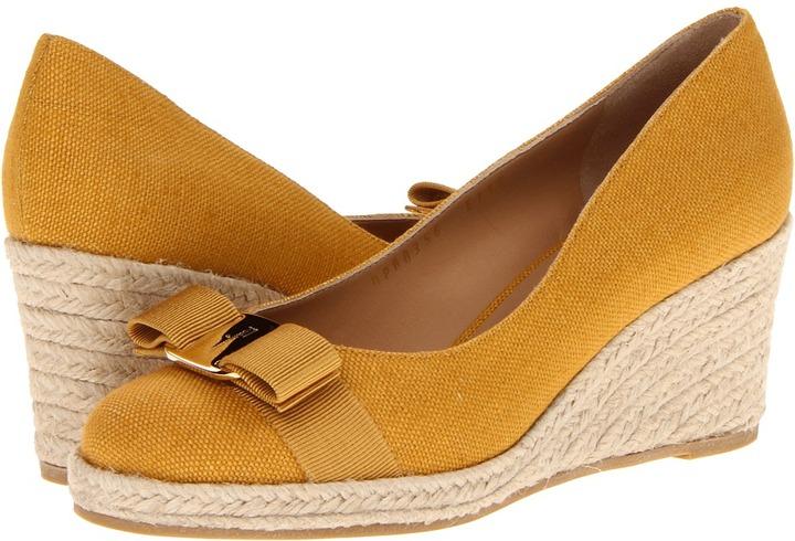 Salvatore Ferragamo Darly Women' Wedge Shoe