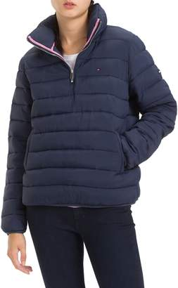 Tommy Jeans TJW Quilted Half-Zip Puffer Jacket