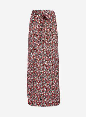 c9bf357efc Dorothy Perkins Womens Multi Colour Ditsy Print Maxi Skirt
