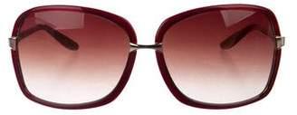 Barton Perreira Gradient Oversize Sunglasses
