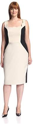 Society New York Women's Colorblock Dress