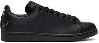 Raf Simons Black adidas Originals Edition Stan Smith Sneakers