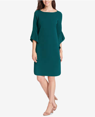 Vince Camuto Bell-Sleeve Shift Dress