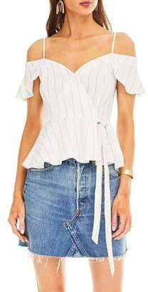 ASTR the Label Carly Cold Shoulder Top