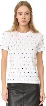Mugler Short Sleeve T-Shirt $695 thestylecure.com