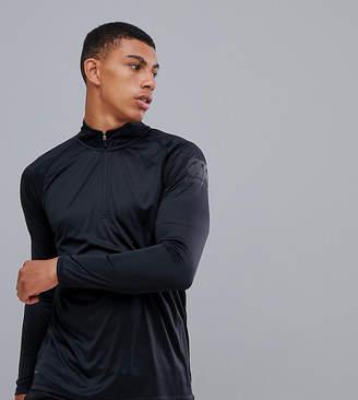 Canterbury of New Zealand Vapodri Half Zip In Black Exclusive To ASOS