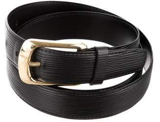 Louis Vuitton Epi Ellipse Belt