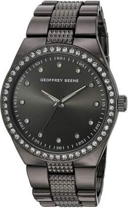 Geoffrey Beene Men's Quartz Metal and Alloy Dress Watch, Color: (Model: GB8118GU)
