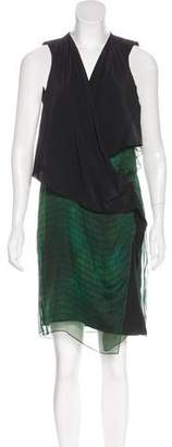 Reed Krakoff Silk Digital Print Dress
