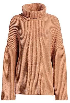 Nanushka Women's Chunky Rib Turtleneck