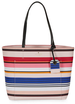 Kate Spade Kate Spade New York Harding Street Stripe Small Riley Tote