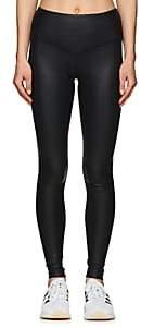 Electric Yoga WOMEN'S COBRA-PRINT LEGGINGS-BLACK SIZE M