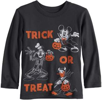 """Disneyjumping Beans Disney's Mickey Mouse Baby Boy Halloween """"Trick or Treat"""" Softest Graphic Tee by Jumping Beans"""