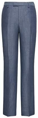 Banana Republic Standard Blue Linen Suit Pant
