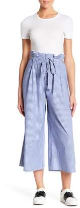 Love, Fire Pinstripe Paperbag Pants
