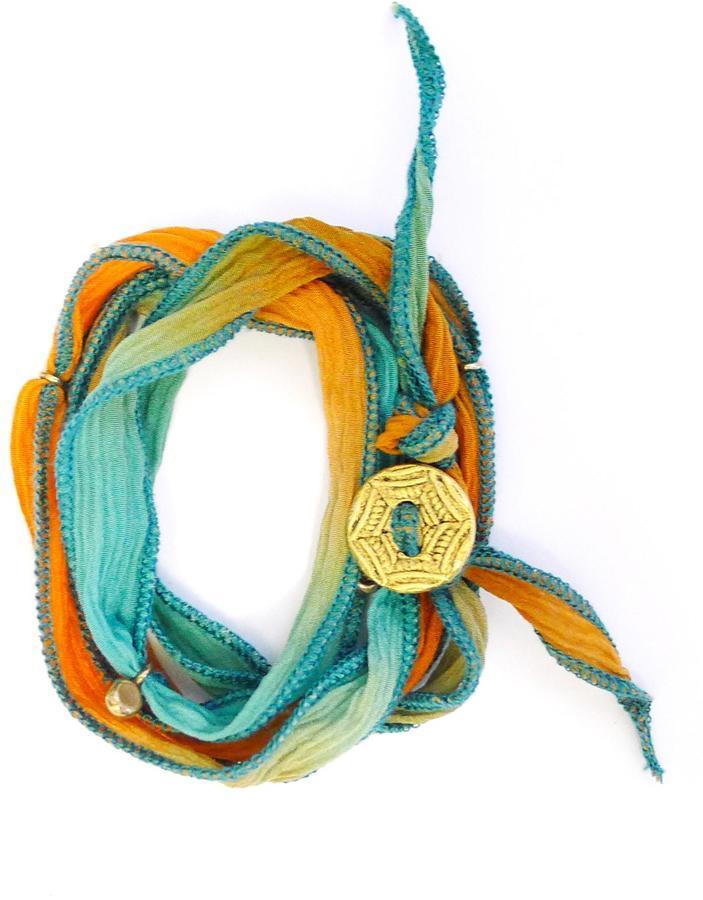 Athleta Ribbon Wrap Bracelet by Bronwen