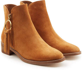 See by Chloe Devon Suede Ankle Boots