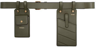 Fendi Green Multi-Accessory Belt