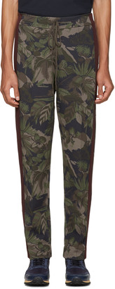 Valentino Green Tropical Camo Lounge Pants $1,995 thestylecure.com